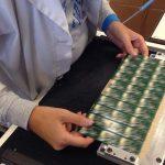 Lavorazione componente elettronico SAMA
