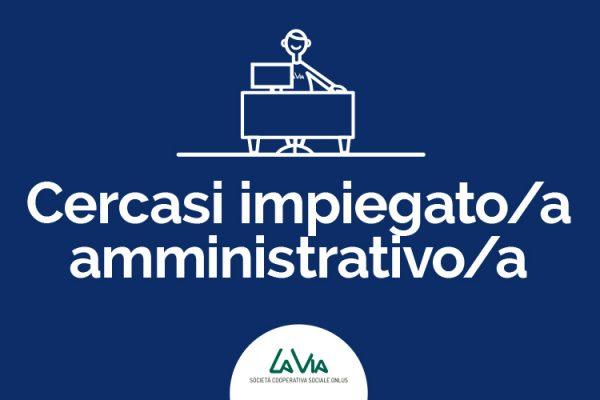 Impiegato/a amministrativo/a.